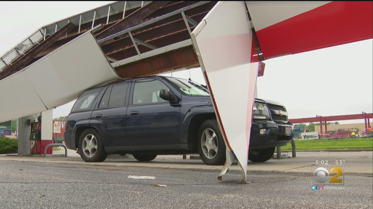 Man Trapped In Car During The Storm: 'I Felt Like It's The