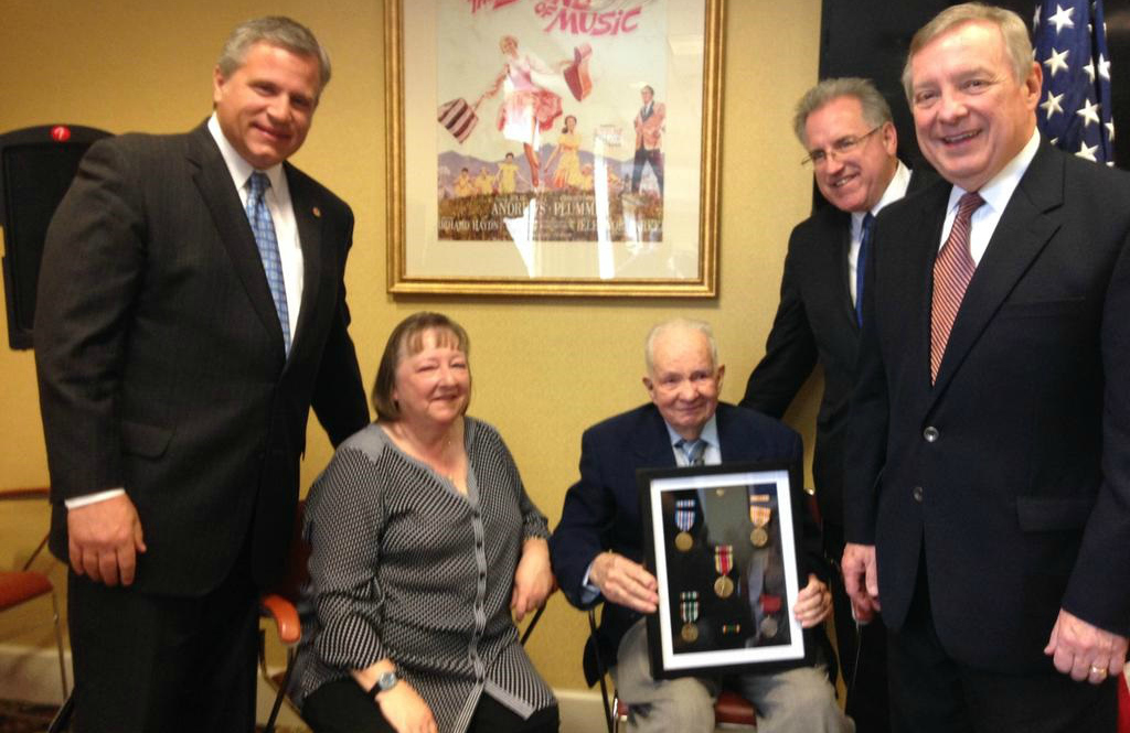 70 Years Later, Navy Veteran Receives Medals For World War