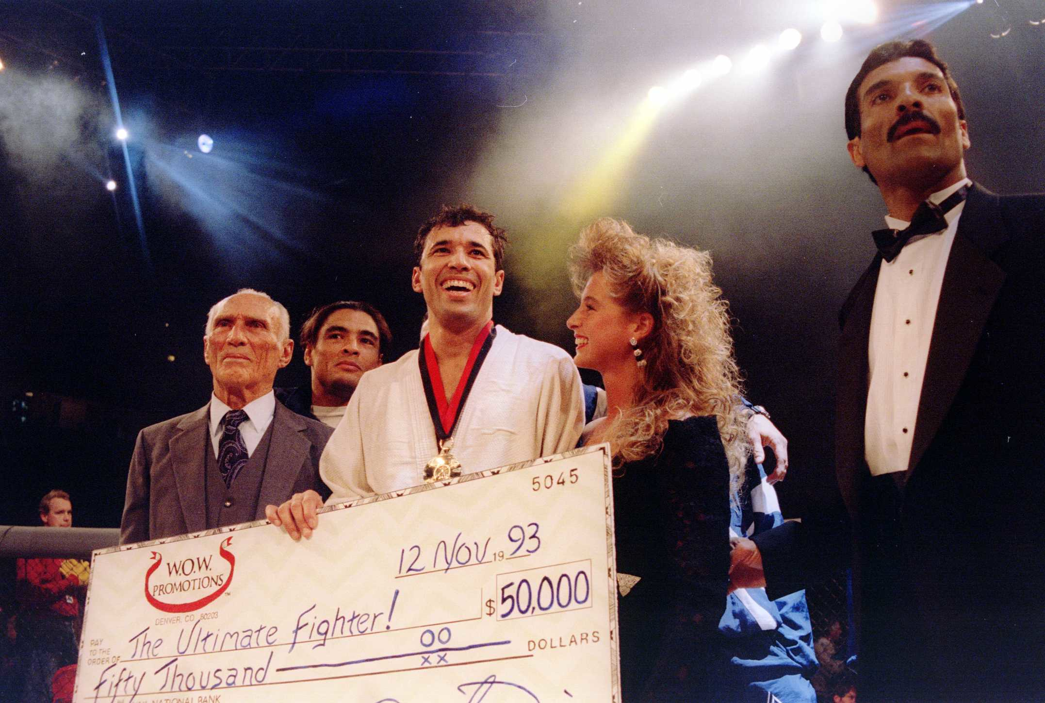 Tap Houston: A Sit Down With Royce Gracie 'The Godfather of