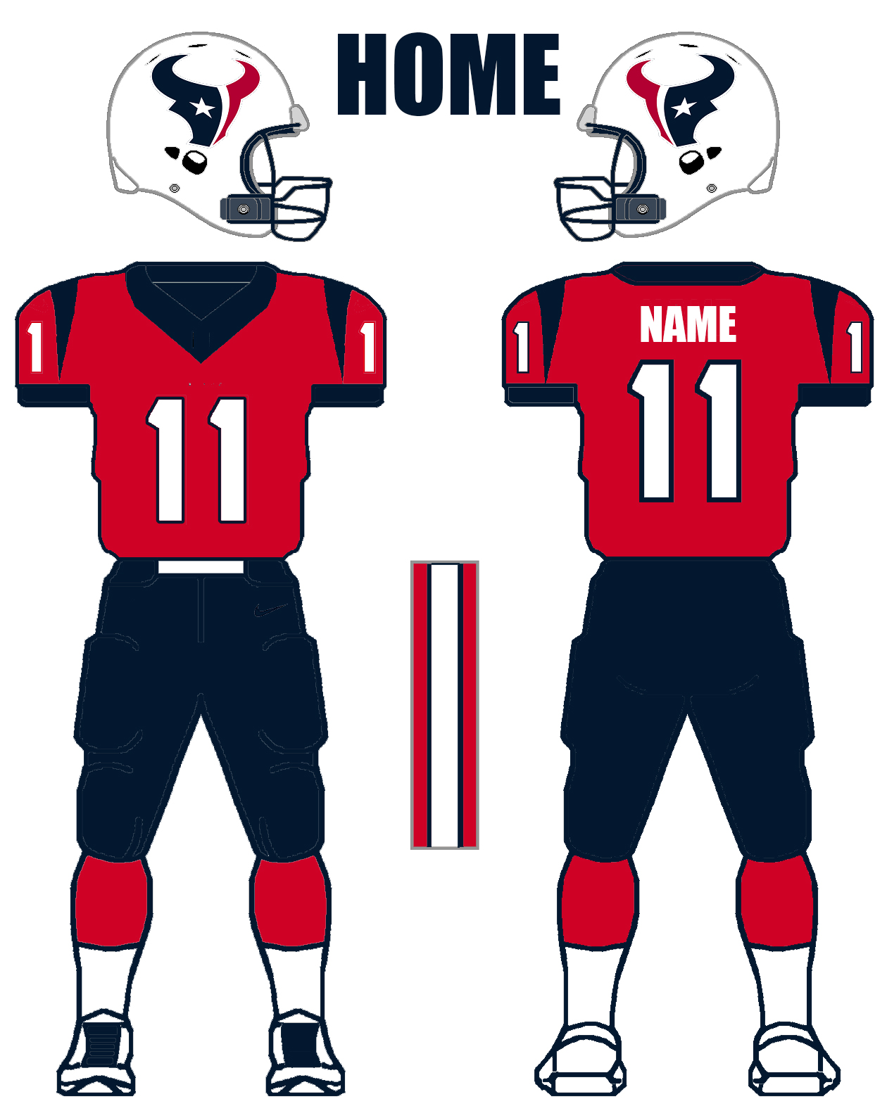 Houston Texans Concept Jerseys Arian Foster S Idea Cbs