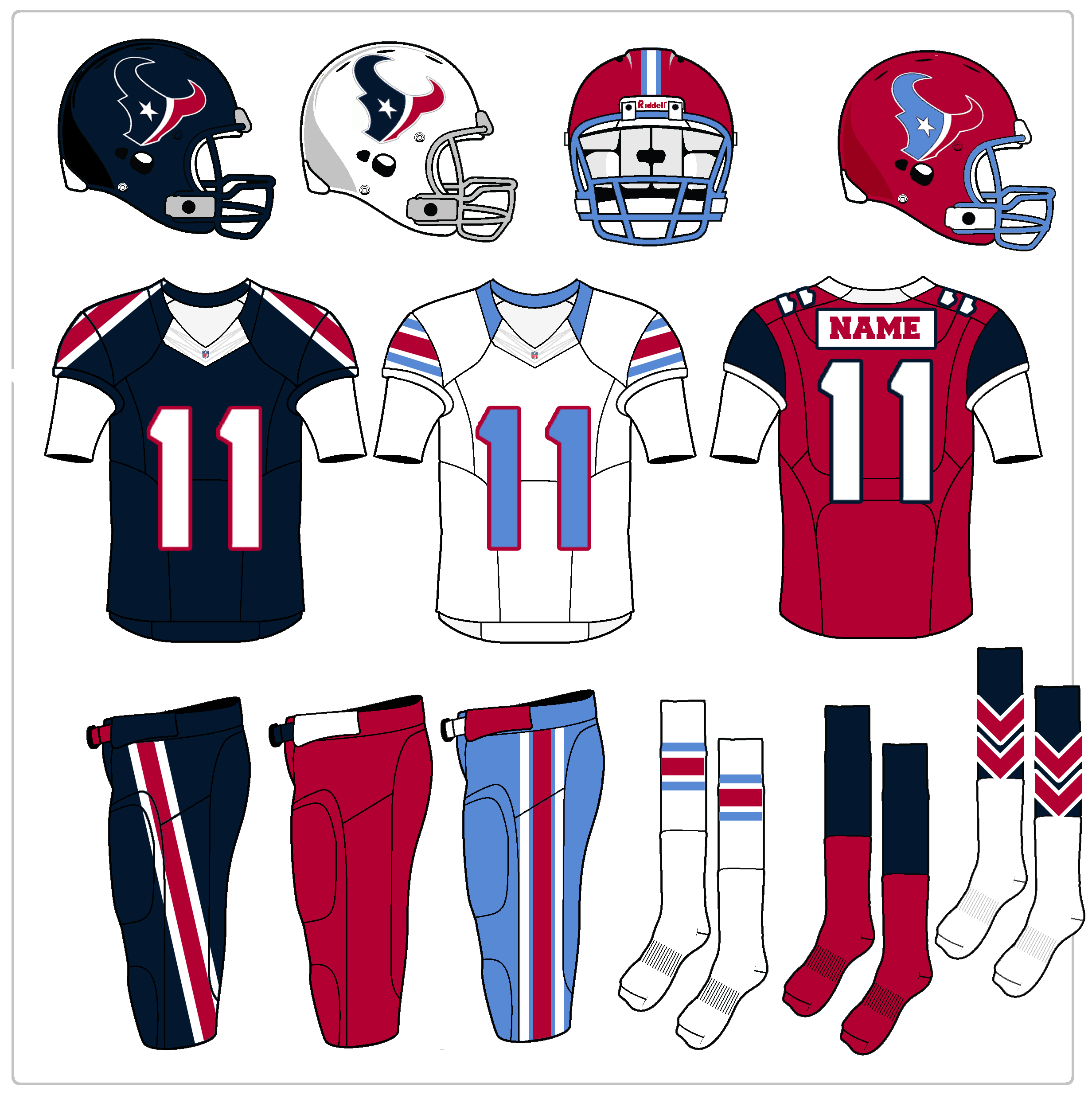 A More Adventurous Take On Texans New Uniforms Cbs Houston