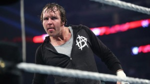 Dean Ambrose WWE in the ring