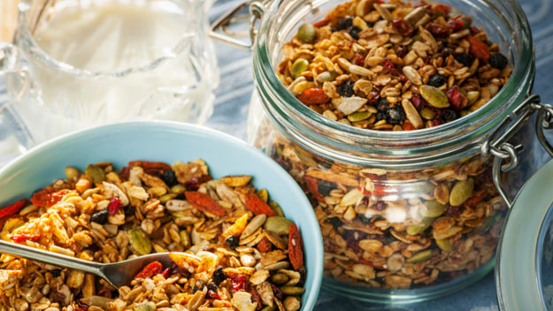Granola Trail Mix, Granola, Homemade, Father's Day, Food Gifts