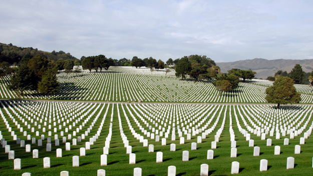 National Cemetary (Photo Credit: Thinkstock)