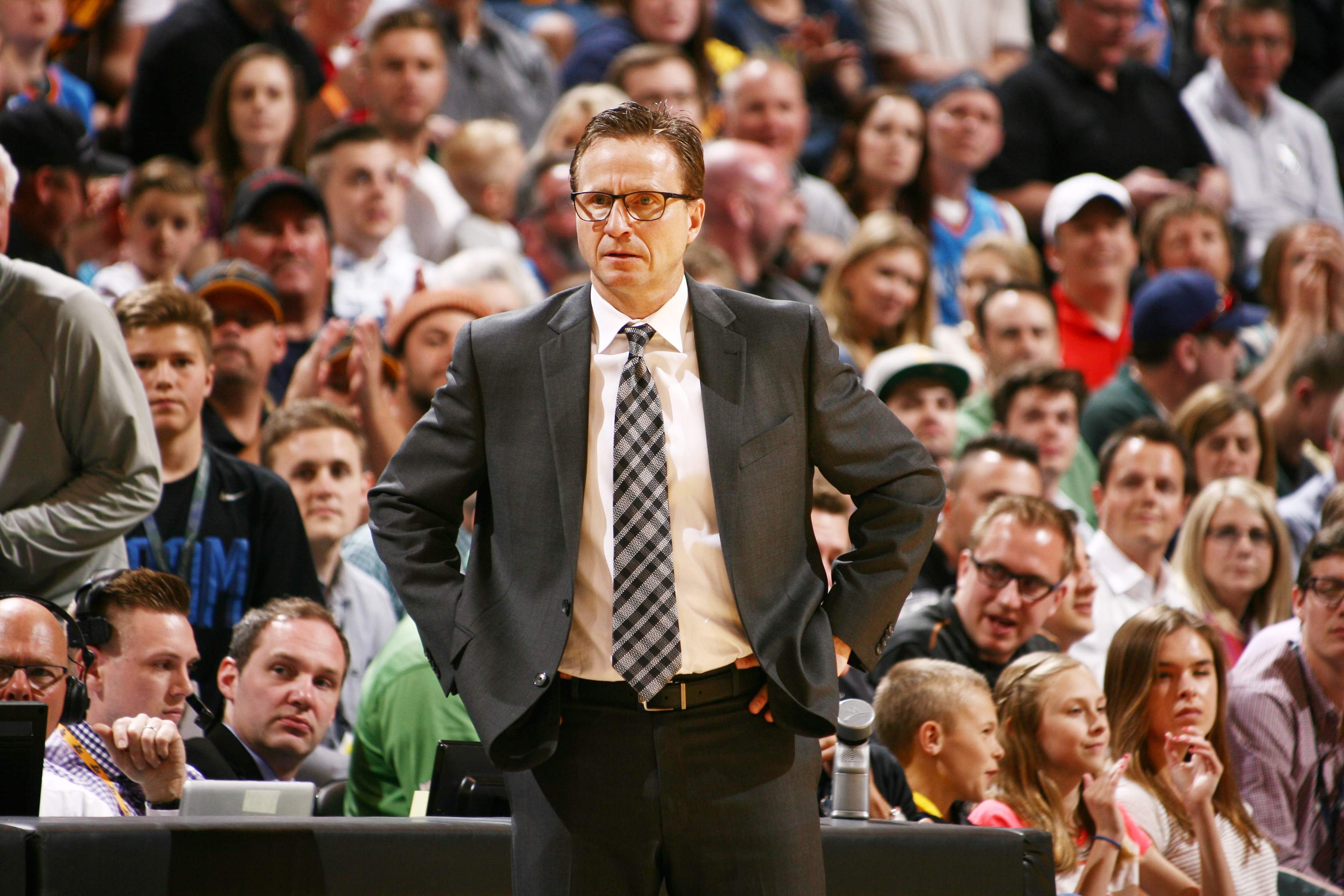 Scott Brooks (Photo by Melissa Majchrzak/NBAE via Getty Images)