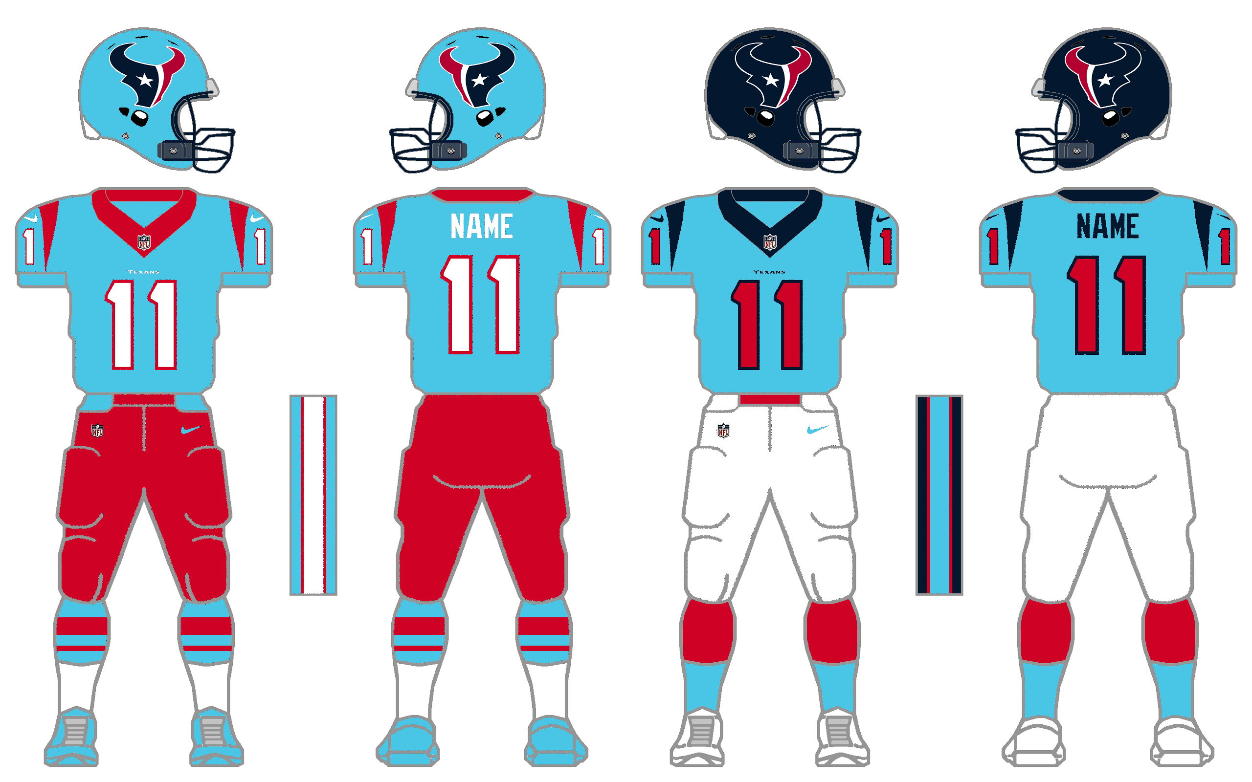 meet efafc 64d96 The Texans Might Be Wearing Oilers Blue This Season – CBS ...