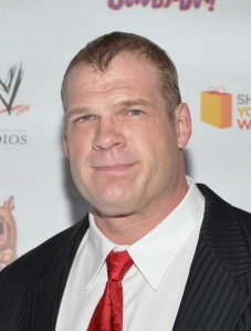 """NEW YORK, NY - MARCH 22: WWE Wrestler Kane attends the """"Scooby Doo! WrestleMania Mystery"""" New York Premiere at Tribeca Cinemas on March 22, 2014 in New York City. (Photo by Mike Coppola/Getty Images)"""
