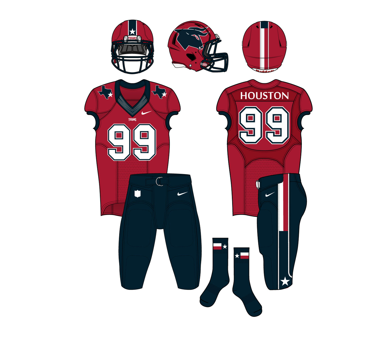 promo code 3acde 27a22 Time For The Houston Texans To Rebrand Their Look – CBS Houston