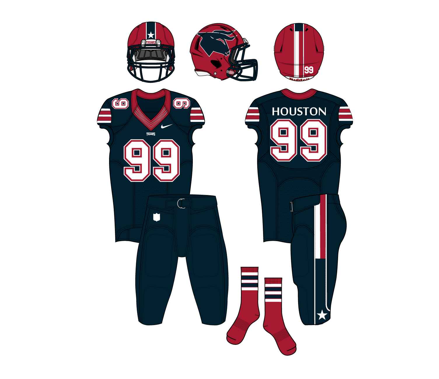 promo code 6b77c 4f815 Time For The Houston Texans To Rebrand Their Look – CBS Houston