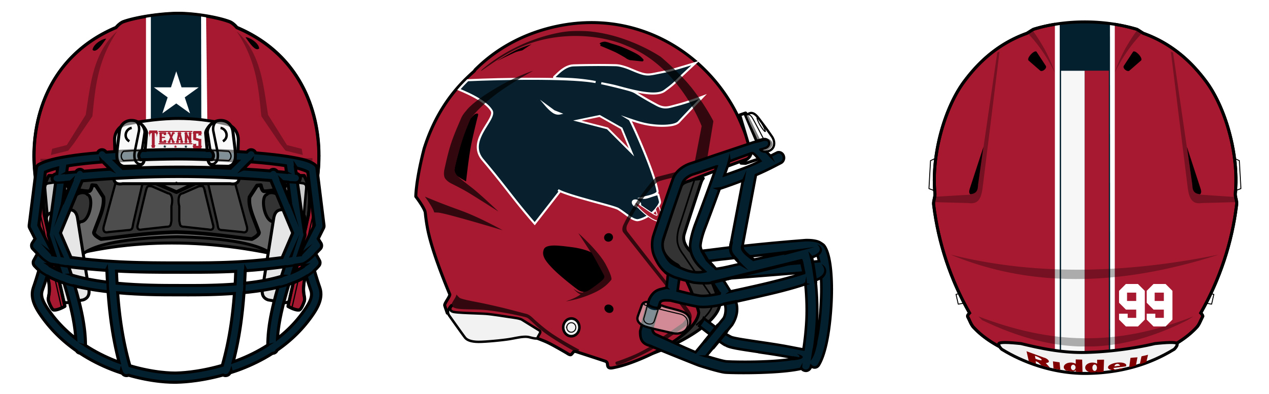 New Houston Texans Logo Uniform Design Concepts And